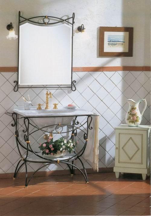 Кованная мебель для ванной ирида мебель ванной